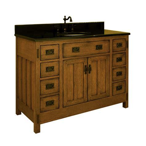 48 American Craftsman Single Bath Vanity Bathgemscom