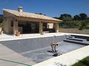 Beton Ciré Piscine : construction piscine marinal beton cire piscine en 2019 piscina de alvenaria piscina borda ~ Melissatoandfro.com Idées de Décoration