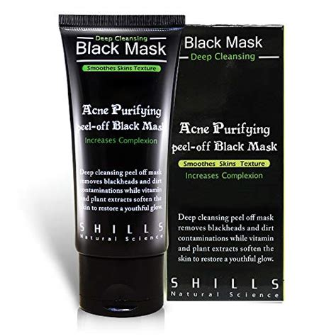 shills blackhead wrinkles anti acne black mask removes