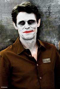 Willem Dafoe as The Joker - CONCEPT by MrSteiners on ...