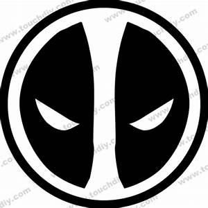 Deadpool Logo Black And White | www.pixshark.com - Images ...