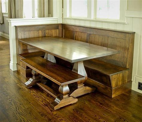 how to build a corner kitchen table breakfast nook idea build a half wall to divide dining
