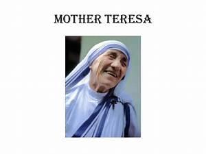 role model mother teresa essay