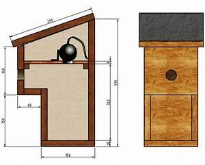 Nichoir à Mésange : plan cabane oiseau mesange nichoirs oiseaux jardin jitep ~ Premium-room.com Idées de Décoration