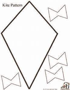 pattern kite kite pinterest With free printable kite template