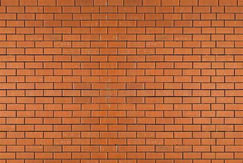 une chambre en ville papier peint trompe l 39 oeil mur de brique orange