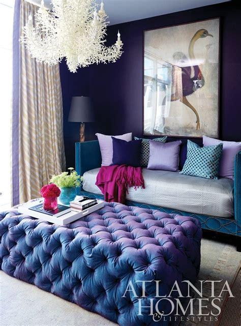 chaise en m tal 7 fotos de salas moradas un color moderno para tu salón