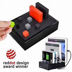 Handy Ladestation Universal : avantree 4 port universal multi usb ladestation f r mehrere ger te table cgps tr618p b eu avantree ~ Sanjose-hotels-ca.com Haus und Dekorationen
