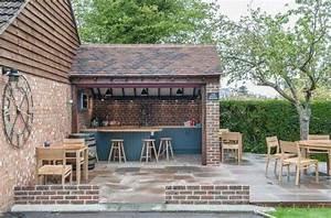 Bar Exterieur De Jardin : am nager un bar de jardin conseils utiles ~ Dailycaller-alerts.com Idées de Décoration