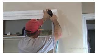 Installing New Exterior Door In Existing Frame by How To Install Window Door Trim Casing YouTube