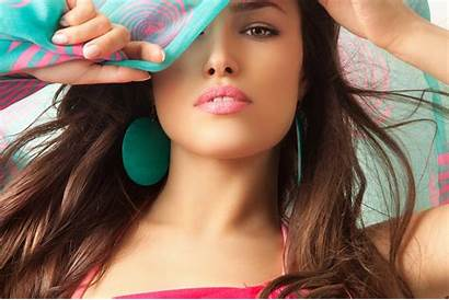 4k Woman Earrings Face Models Gorgeous Wallpapers