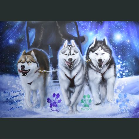snow dogs poster dftba