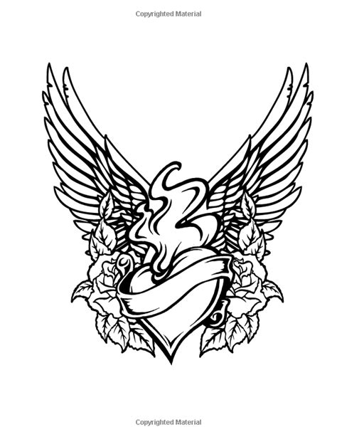 Tattoo Colouring Book: Beverley Lawson | Tattoo coloring book, Coloring books, Coloring book pages