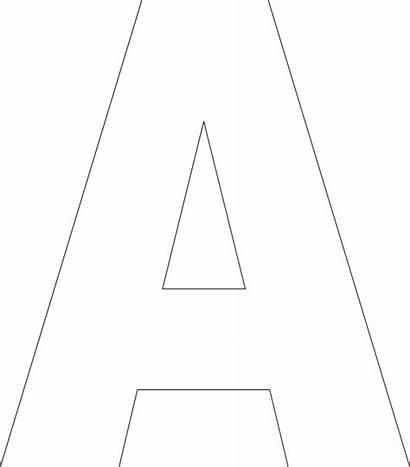 Printable Letter Templates Alphabet Printablee Via