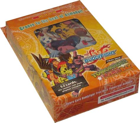 buddyfight trial deck 7 fc buddyfight tomorrow asmodai trial deck box 76