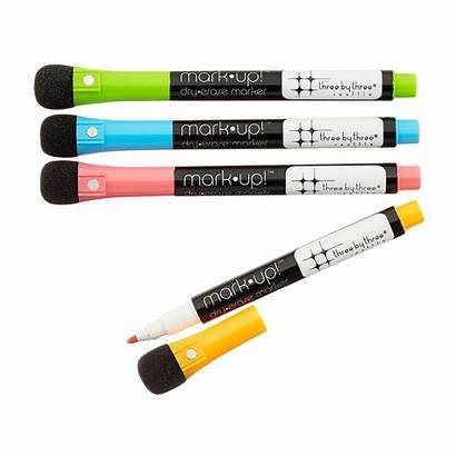 Erase Dry Markers Magnetic Three Brights Height