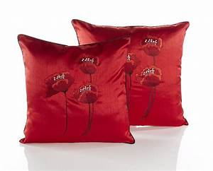 poppies red cushion covers dublin ireland With sofa cushion covers ireland