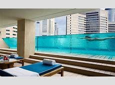 Swimming pools in Singapore Fivestar hotels with the