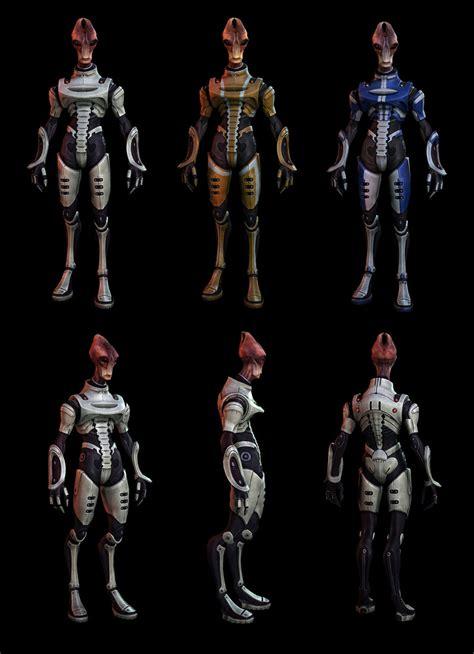 salarian light armor art mass effect  art gallery