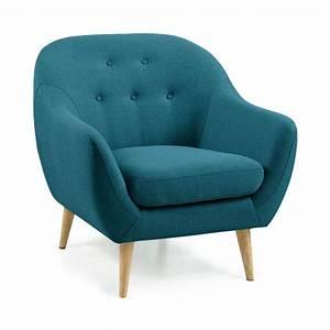 Petit Fauteuil Confortable : fauteuil scandinave capitonn cirrus drawer ~ Teatrodelosmanantiales.com Idées de Décoration