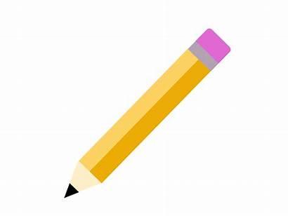 Pencil Transparent Vector Yellow Background Exercises Rag