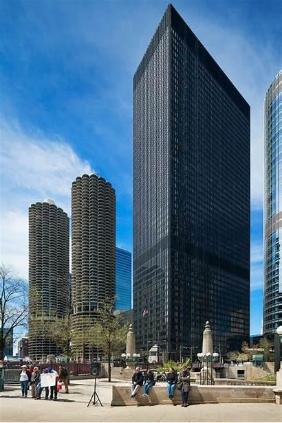 Ibm Marina Building Chicago Bauhaus Architecture Cac