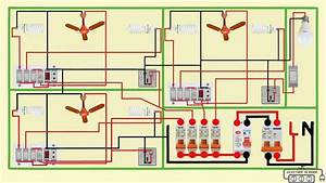 Complete Electrical House Wiring Diagram In 2020