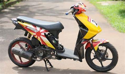 Modifikasi Beat Road Race by Modifikasi Honda Beat Paling Keren Terbaru 2019 Otomaniac