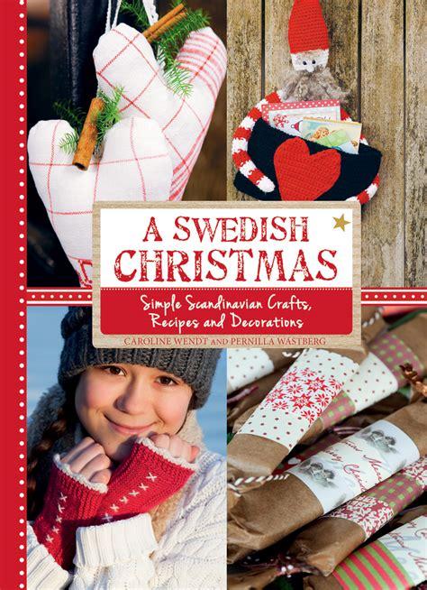 sweden christmas kids crafts caroline wendt swedish floris books