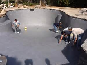 Gunite Pool Shell