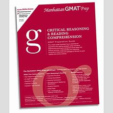 Manhanttan Critical Reasoning And Reading Comprehension Gmat  Gmat Tutor