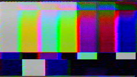 Tv Color Bars Stock Footage Video