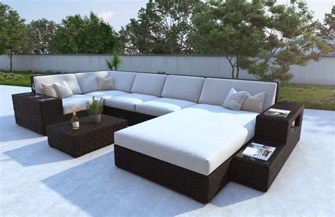 table de cuisine pour petit espace jardin contemporain avec mobilier rotin nativo meubles