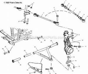Polaris A03ch42aa Parts List And Diagram