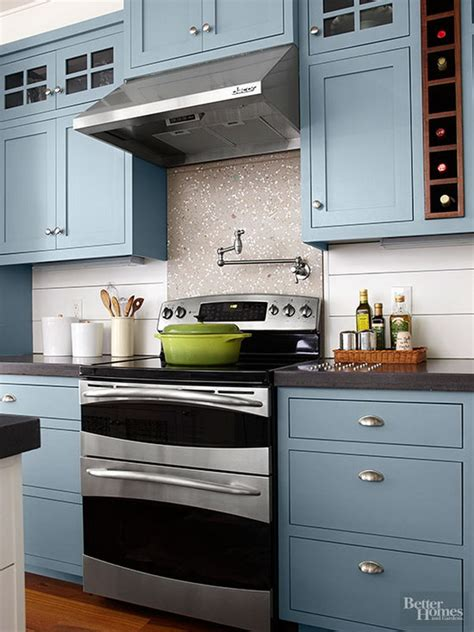 kitchens with colored cabinets 80 cool kitchen cabinet paint color ideas 8783