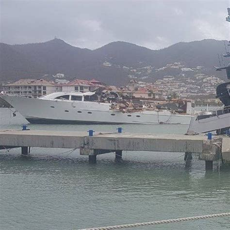 Hurricane Irma Boats Destroyed by Hurricane Irma Destroys Yachts In The Caribbean