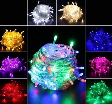 china supplier sale 10m 100 led string outdoor