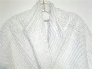 chenille robe bed jacket size 10 12 vintage 50s