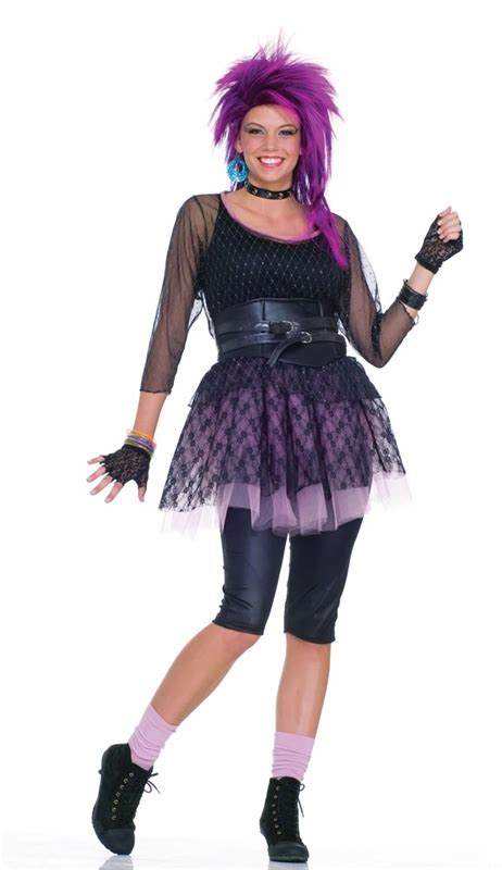 80s Funky Pop Star Adult Costume