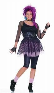 80s Funky Pop Star Adult Costume