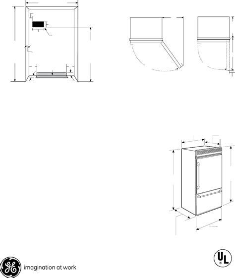 ge monogram refrigerator zicpnx user guide manualsonlinecom