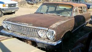 Restorable Chevrolet Classic Project Cars For Sale 1962
