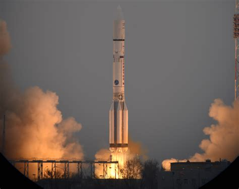 Russia's Proton Rocket Faces Extended Grounding Due To