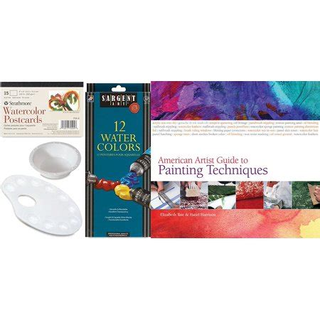 watercolor painting artists guide paint 12 color paint water color