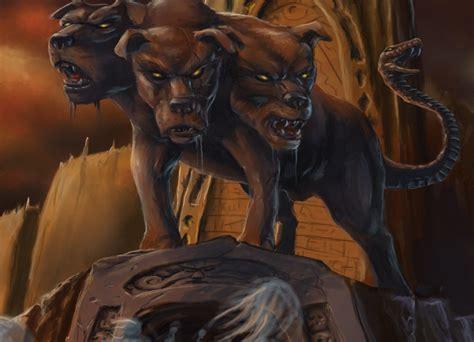les 7 portes de l enfer mitologias mitologia grega cerberus