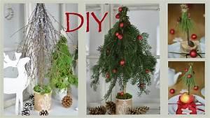 Basteln Mit ästen Und Zweigen : diy weihnachtsdeko selber machen b ume aus zweigen und sten i winterdeko i tischdeko i how ~ Whattoseeinmadrid.com Haus und Dekorationen