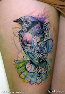 Inkspiration on Pinterest   Watercolor Tattoos, Little ...