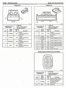 1999 Frc Cassette To 2003 Cd Player Wiring - Page 2 - Corvetteforum