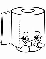 Toilet Paper Roll Clipart Coloring Drawing Clipartmag sketch template