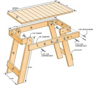 Garden Glider Bench by Free Portable Grill Table Plans Woodwork City Free